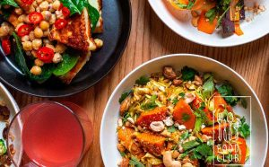 Tag-selv-bord på Food Club